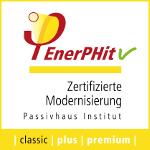 Certifikát PHI - modernizácia