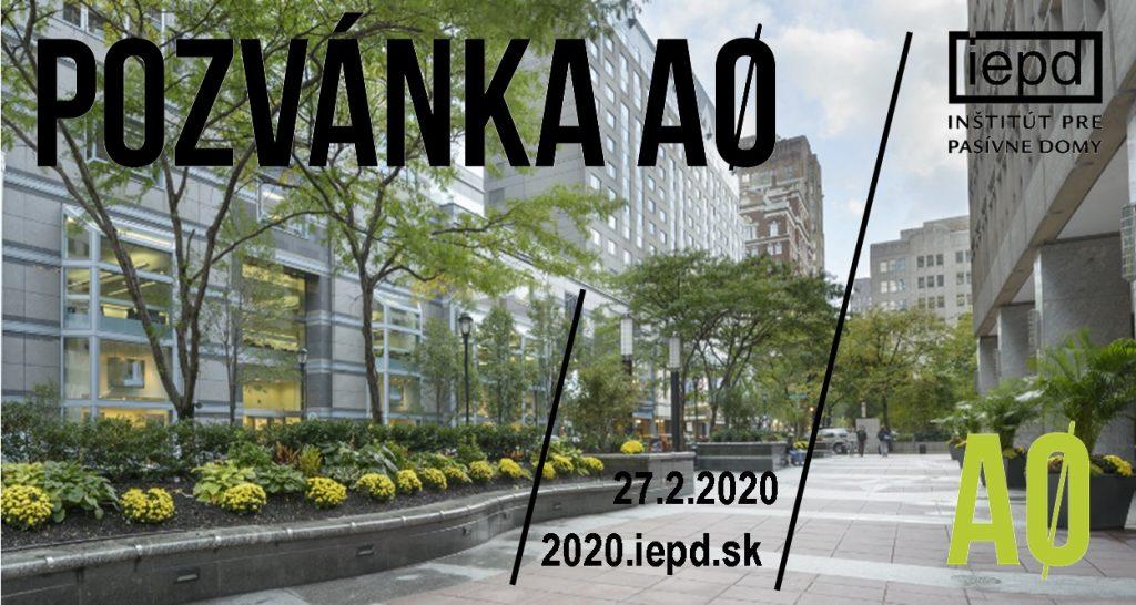 Už o dva týždne: BUDOVY A0 / 27. 2. 2020 / Elektrárňa Piešťany