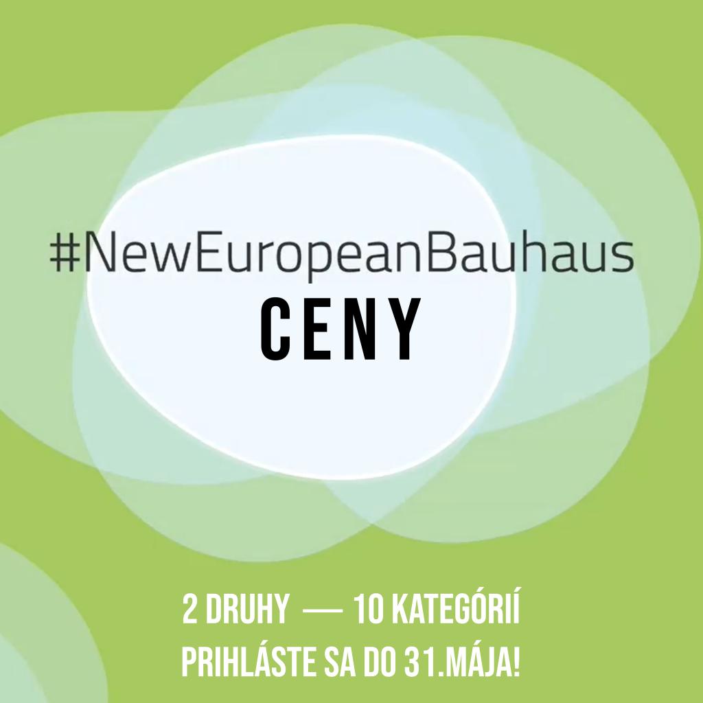 Súťaž o ceny Nového európskeho Bauhausu